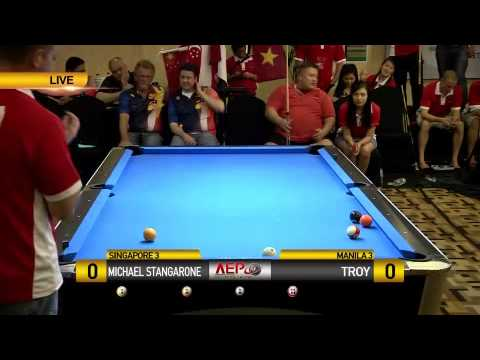 Michael Stangarone (Singapore) vs Troy (Manila)