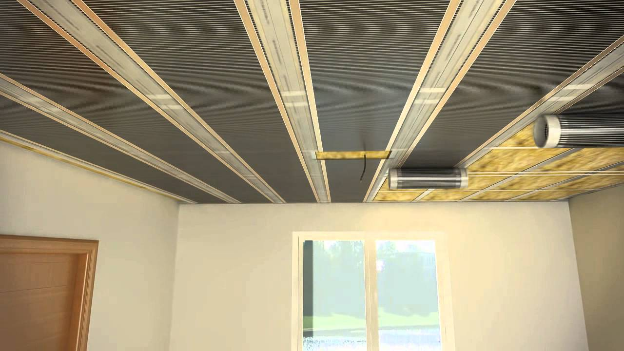 ECOFILM C  foils for ceiling heating  YouTube