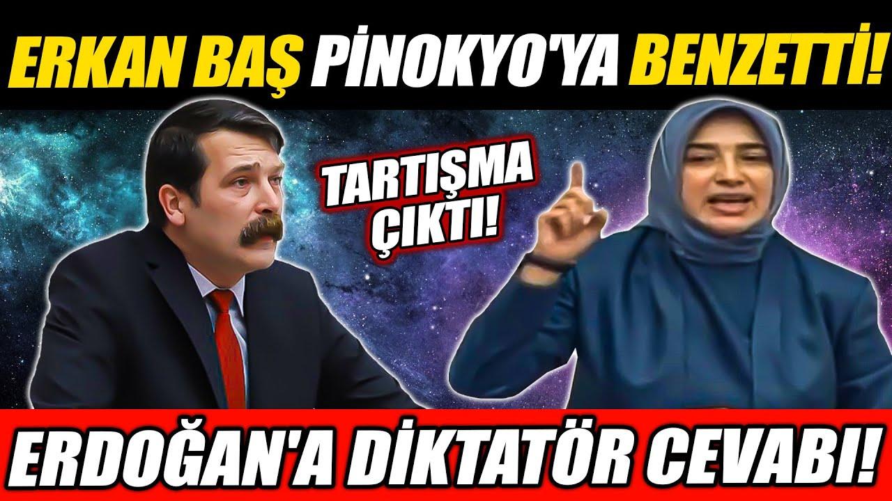Erkan Baş Özlem Zengin ile tartıştı! Erdoğan'a 'diktatör' cevabı!