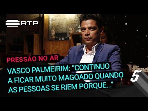 """Vasco Palmeirim: """"Continuo a ficar muito magoado quando as pessoas se riem porque..."""""""