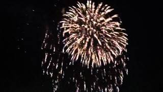 Texas Rangers fireworks show - April 27th, 2012