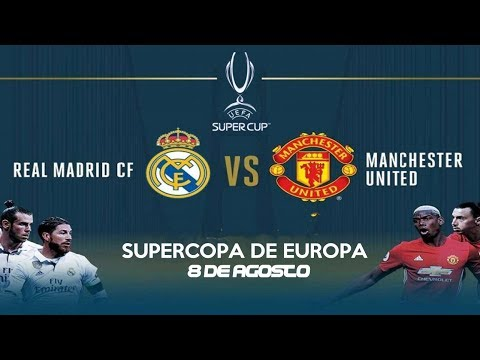 Real Madrid Vs Manchester United ● PROMO ● UEFA Super Cup 2017   HD