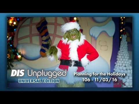 Planning for the Holidays | Universal Edition | 11/03/16
