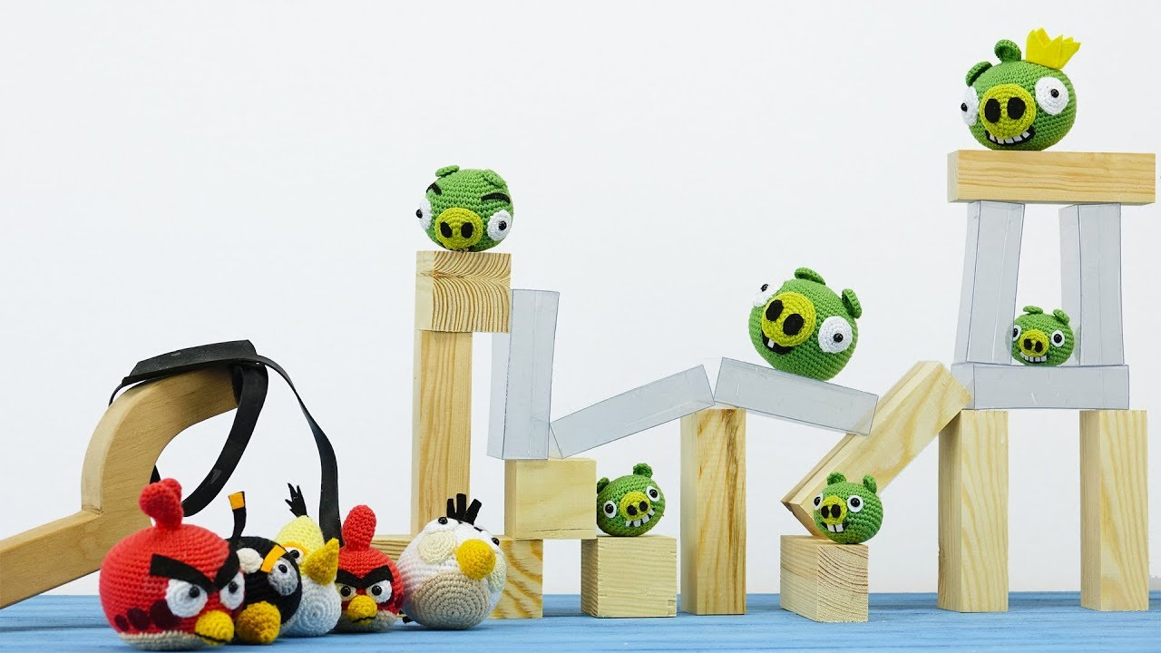 Making Angry Birds Game In Real Life - YouTube
