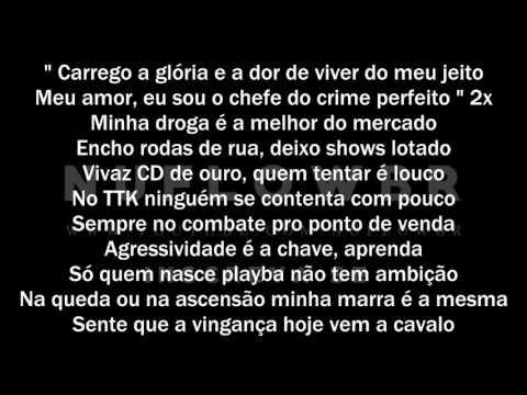 Filipe Ret - Chefe do Crime Perfeito (Letra)