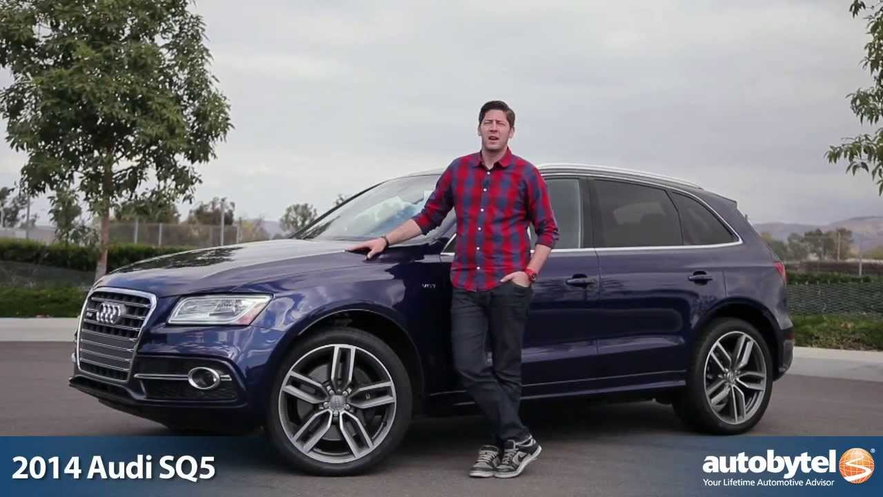 2014 audi sq5 test drive video review 354 horsepower crossover suv youtube