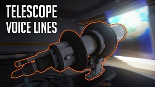 Every Hero's Telescope Voice Lines [Overwatch]
