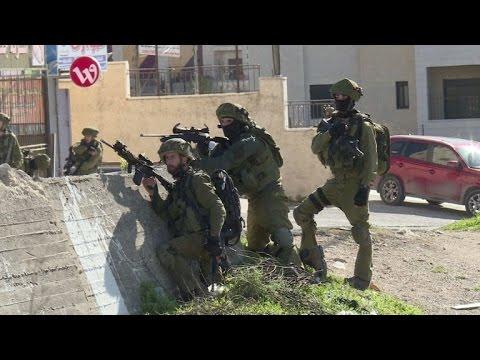Enfrentamientos Entre Palestinos Y Soldados Israelíes