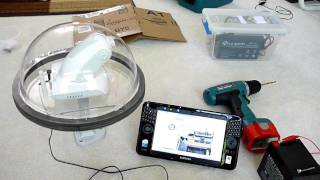 Solar Powered Wireless Security Camera - Part 1