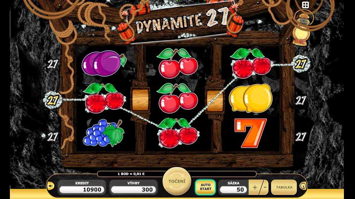 Dynamite 27 is an explosive game for all those gold-diggers out there.It was manufactured by Kajot gaming, a company that is quickly climbing the slot game ranks.This exclusive game has bombastic features and bonus games—literally.5/5(1).