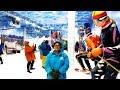 First Snow Park at Kolkata | Axis Mall Snow Park |  New Town Snow Park