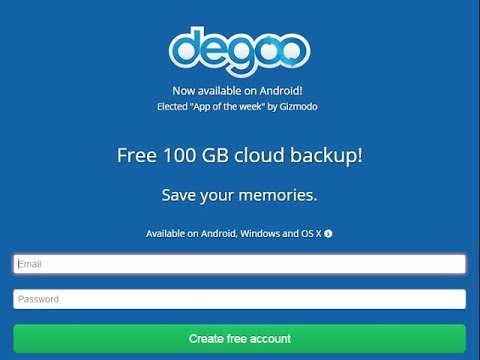 Degoo App - 100GB Free Cloud Storage