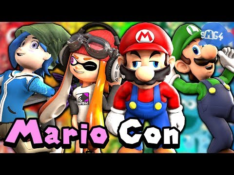 SMG4: The Mario Convention!