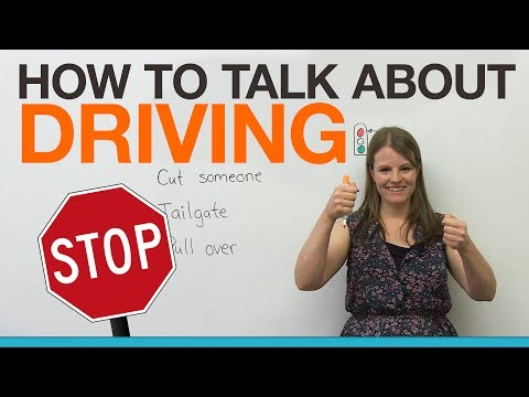 10 biểu thức lái xe phổ biến
