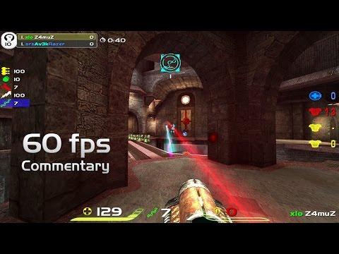 Av3k vs Z4muZ - DreamHack Winter 2009 [with Commentary] QuakeLive Grand Final 4k60fps