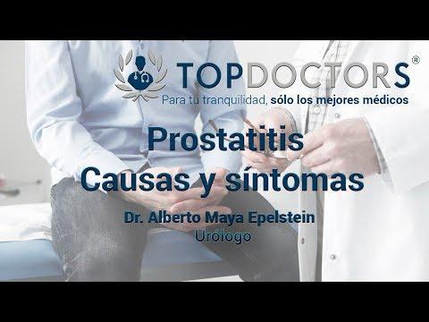 síntomas de prostatitis en un video de hombre