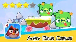 Angry Birds Casual Level 58-59 Walkthrough Sling birds to solve puzzles! Recommend index four stars