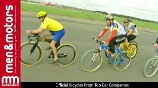 Official Bicycles From Top Car Companies - Lotus, Audi, Porsche, Land Rover & Peugeot