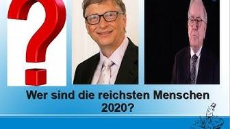 Die reichsten Menschen der Welt / Die Forbes-Liste 2020
