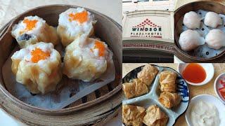Ăn dimsum ở Nhà hàng 5 sao Ngân Đình của khách sạn Windsor Plaza Sài Gòn