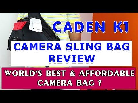 Best & Affordable CAMERA BAG CADEN K1 - REVIEW
