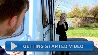 Getting started with your Bailey caravan