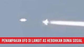 Penampakan UFO yang Menyalip Pesawat Jet Komersial Hebohkan Media Sosial