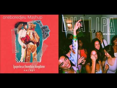 Bad At Rules - Halsey vs. Dua Lipa (Mashup)
