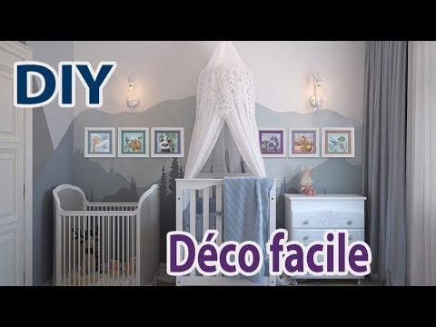 idée déco chambre bébé à faire soi-même
