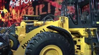 Hyundai Construction Equipment - ConExpo 2014 Product Walk Around