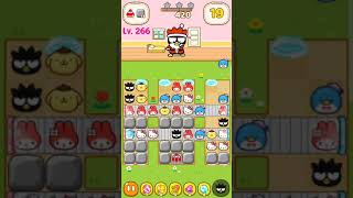 Hello Kitty Friends Level 266 Tap & Pop, Adorable Puzzles (Gameplay Android/iOS)