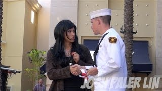 Transexual Pick Up Guys Prank!