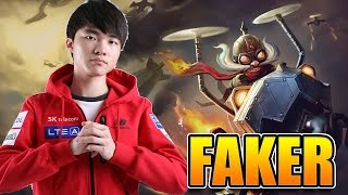 Faker Stream 이상혁 [Corki] Solo Mid Full Gameplay