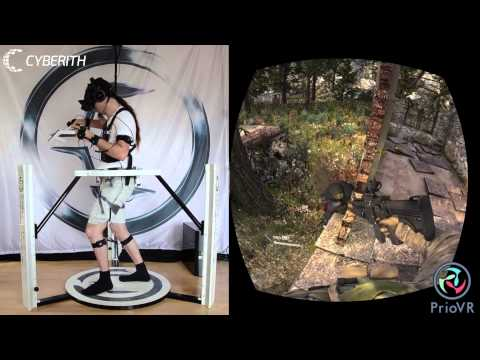 Cyberith Virtualizer + YEI Technology PrioVR + Oculus Rift = Holy Grail of VR