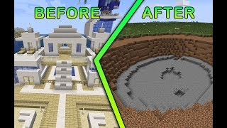 Man Destroys Entire Base For No Reason | Risk It For the Biscuit 1 | Minecraft