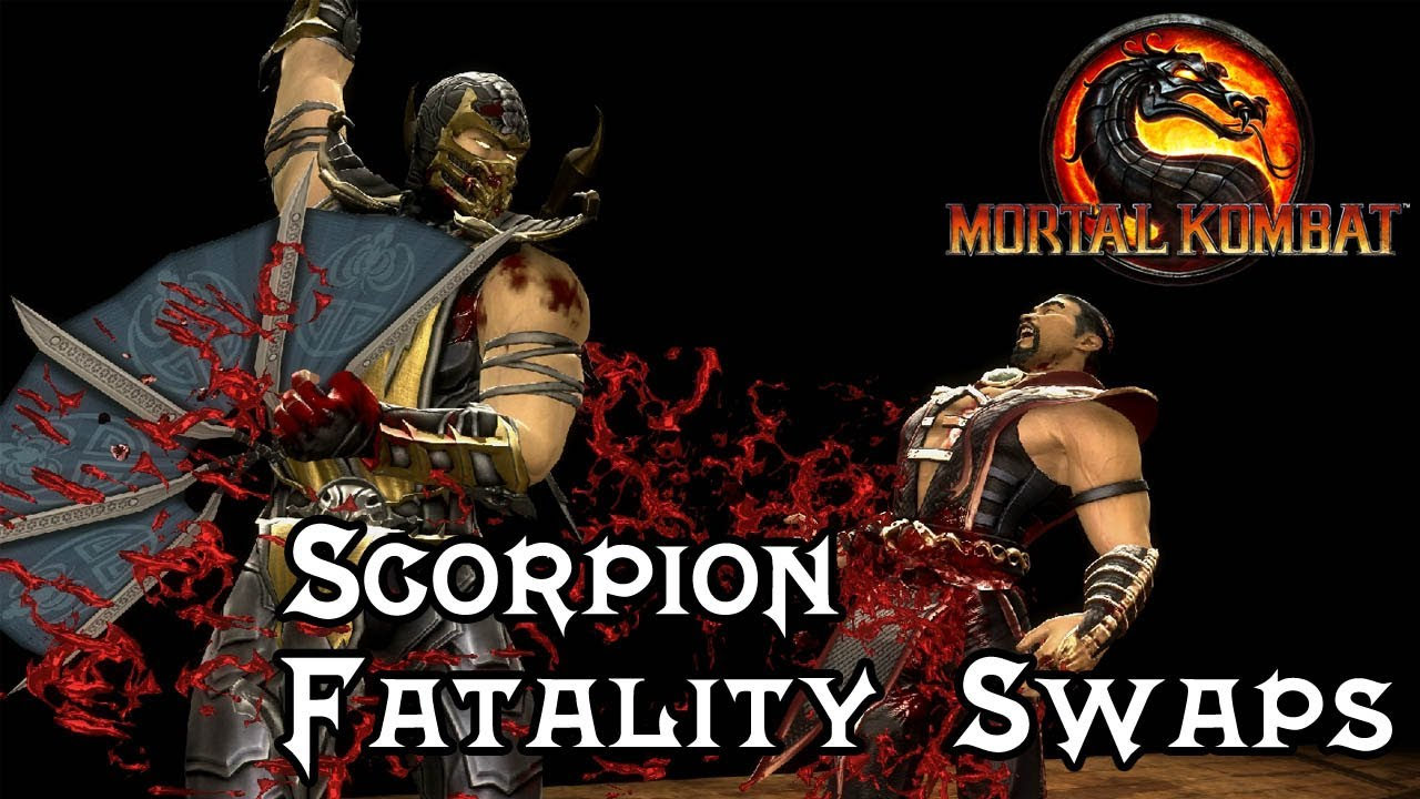 mortal kombat 9 scorpion fatality swaps 1 2 1080p pc mods true