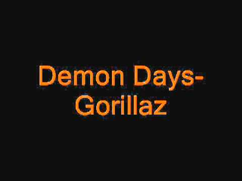 Don't Get Lost In Heaven  Demon Days Gorillaz