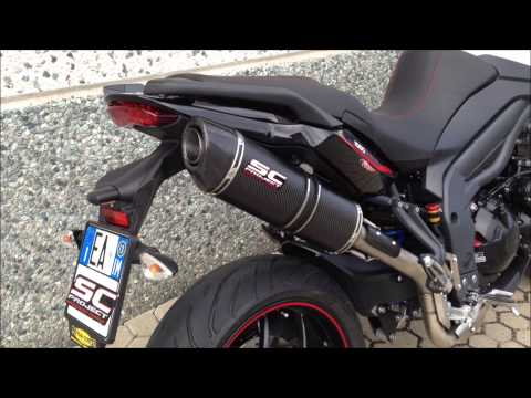 Repeat Triumph Tiger 1050 Sport SCProject exhaust by
