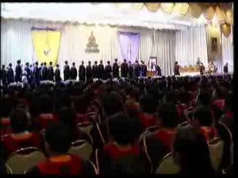 พิธีพระราชทานปริญญาบัตร มหาวิทยาลัยรามคำแหง ประจำปีการศึกษา 2554-2555  NBT