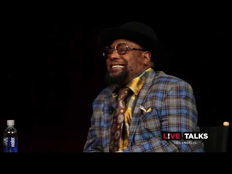 George Clinton in conversation with Geoff Boucher at Live Talks Los Angeles