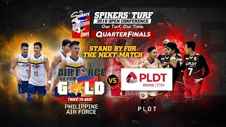 Spikers' Turf 2019 Open Conference Quarterfinals: PLDT vs PH AIRFORCE