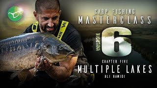 Korda Carp Fishing Masterclass Vol 6: Multiple Lakes | Ali Hamidi 2019