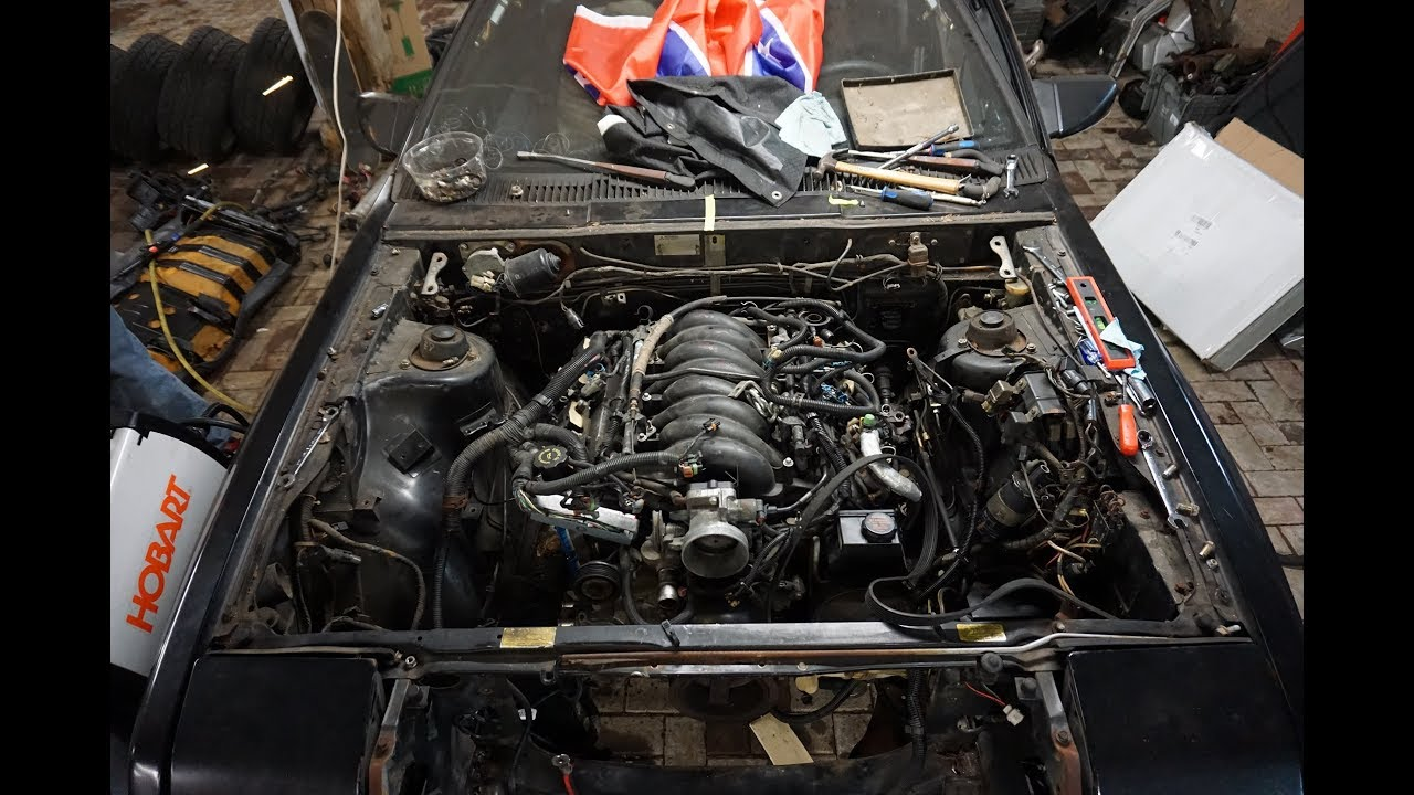 mitsubishi starion motor swap