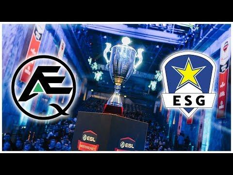 ESL Meisterschaft Halbfinale - ESG vs AEQ | Highlights - League Of Legends thumbnail
