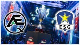 ESL Meisterschaft Halbfinale - ESG vs AEQ   Highlights - League Of Legends