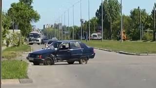 Бердянск 2017   ДТП c участием таксиста