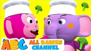 Yes Yes Vegetables Song | NEW SONG | Nursery Rhymes & Kids Songs