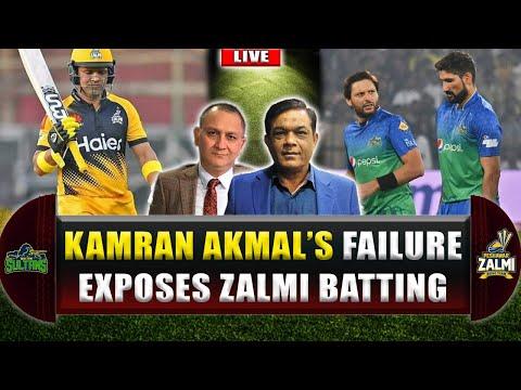 Kamran  Akmal's failure exposes Zalmi Batting ?