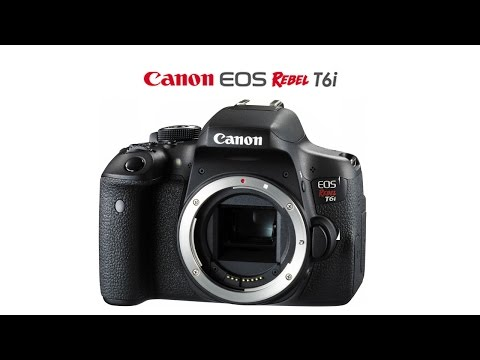 What Each Function Of The Canon T6I Or 750D Does & How To Use Them Part 1 The Buttons & Body