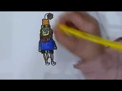 How To Draw The Grumbler Of Their Mulga 7gnomov Ворчун 7 гномов